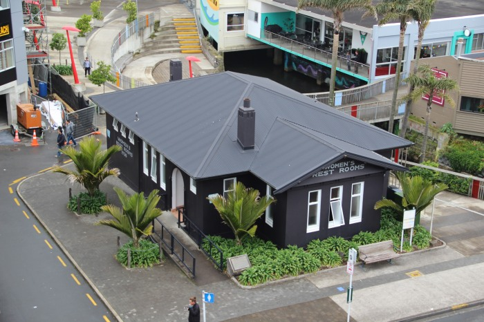 New Plymouth Women's Rest Rooms
